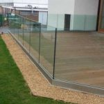 fitted glass railings