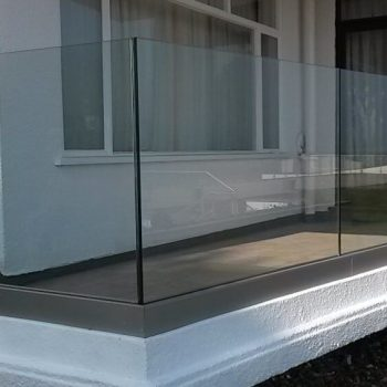 clean and modern glass panelling