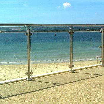 Framed Glass Railings