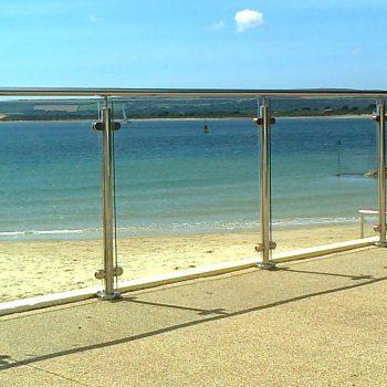 Framed Glass Rails