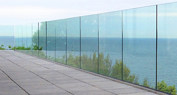 Frameless Glass Railings by Southern Fabrication