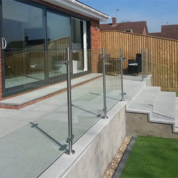 Glass Railings fitted by Southern Fabrication